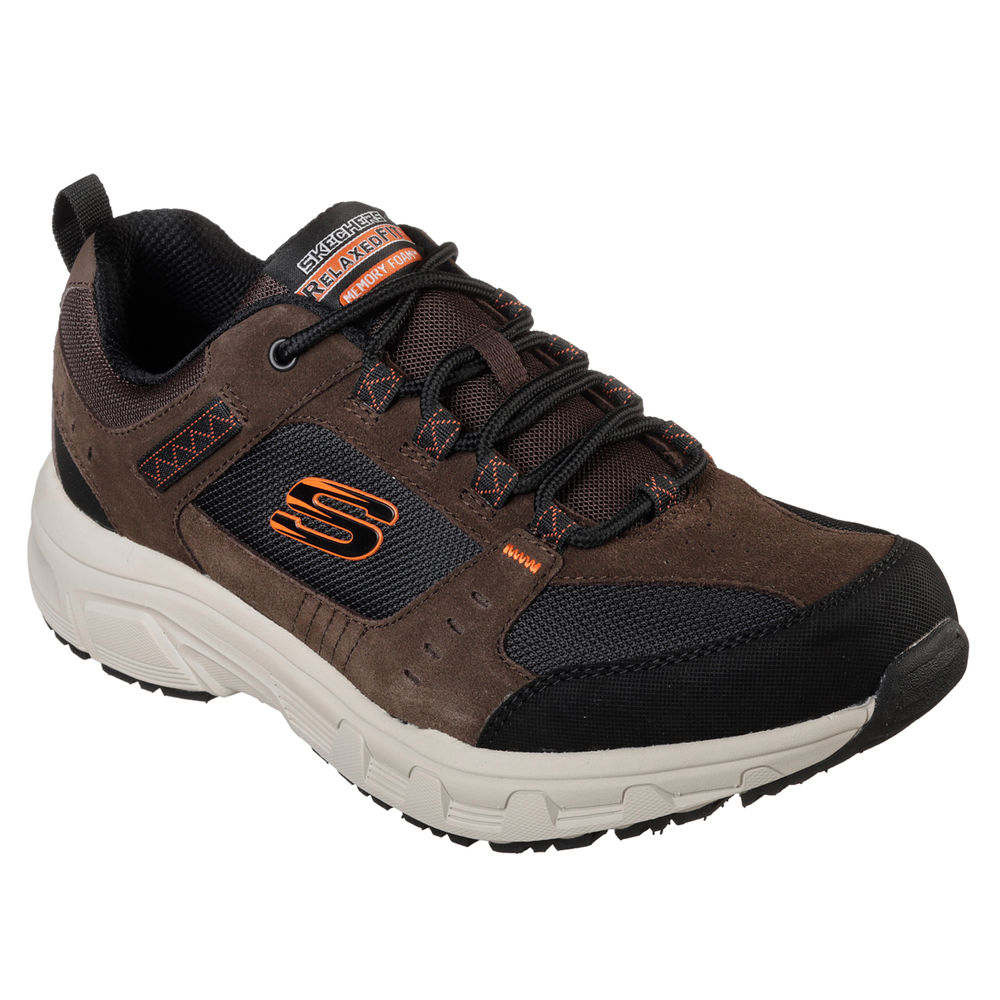 スケッチャーズ Skechers メンズ シューズ・靴 スニーカー【Relaxed Fit Oak Canyon Casual Shoe】Brown/Black
