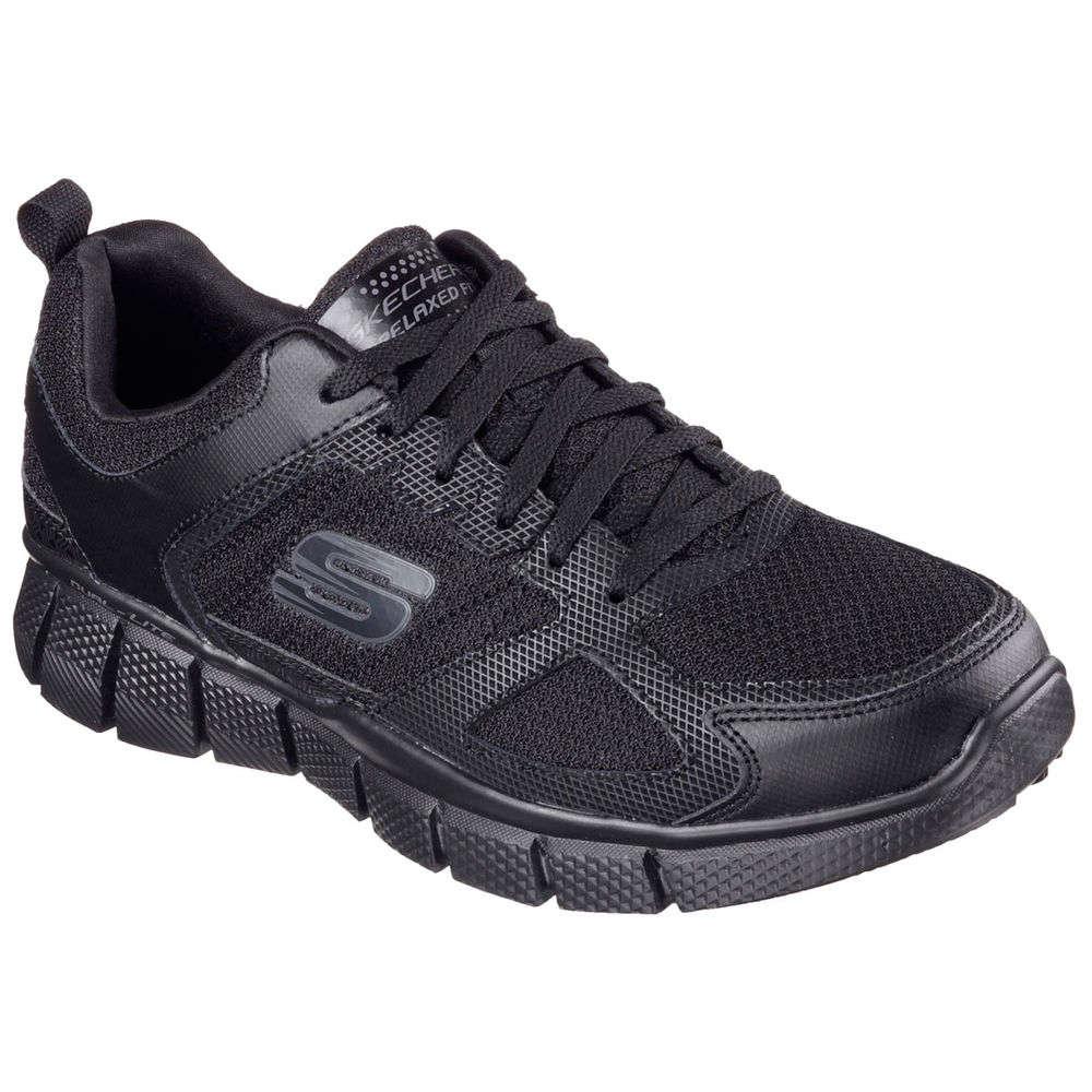 スケッチャーズ Skechers メンズ ランニング・ウォーキング シューズ・靴【Equalizer 2.0 Walking Shoe】Black/Black