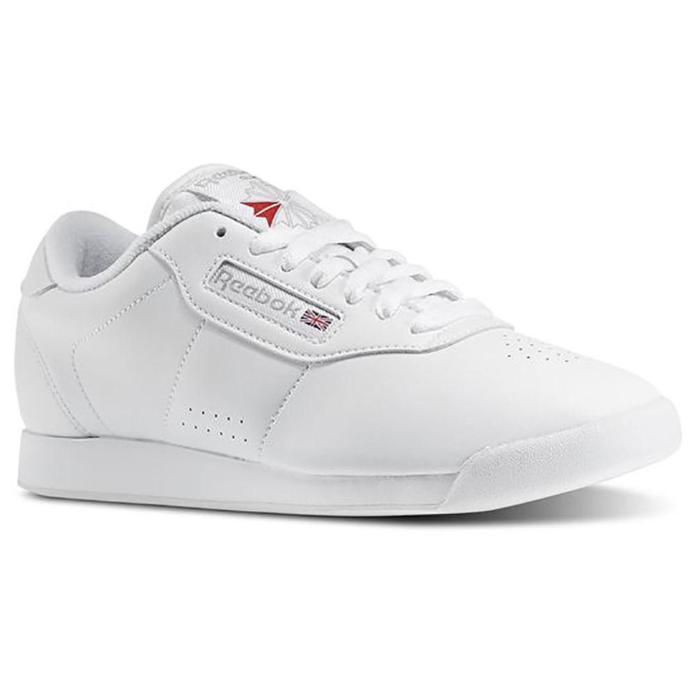 リーボック Reebok レディース ランニング・ウォーキング シューズ・靴【Princess Lite (Wide Width) Walking Shoe】White
