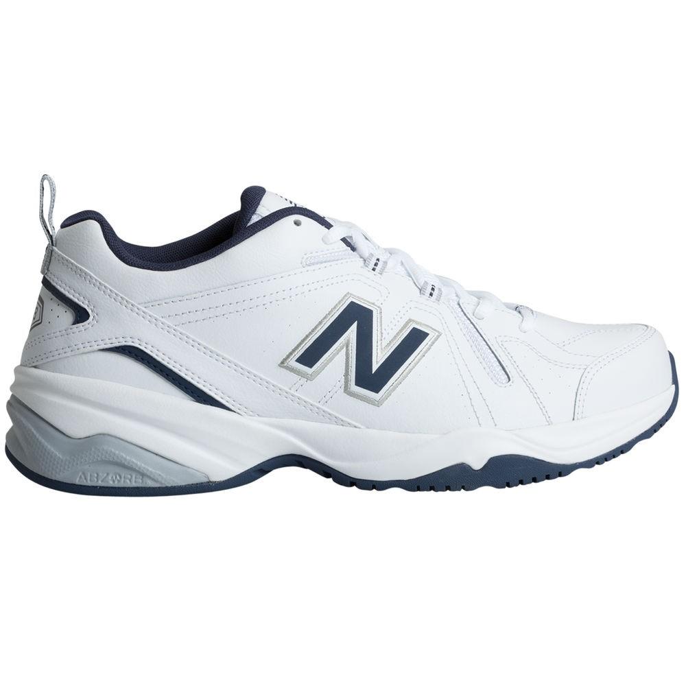 ニューバランス New Balance メンズ フィットネス・トレーニング シューズ・靴【608v4 (Wide Width 4E) Training Shoe】White/Navy