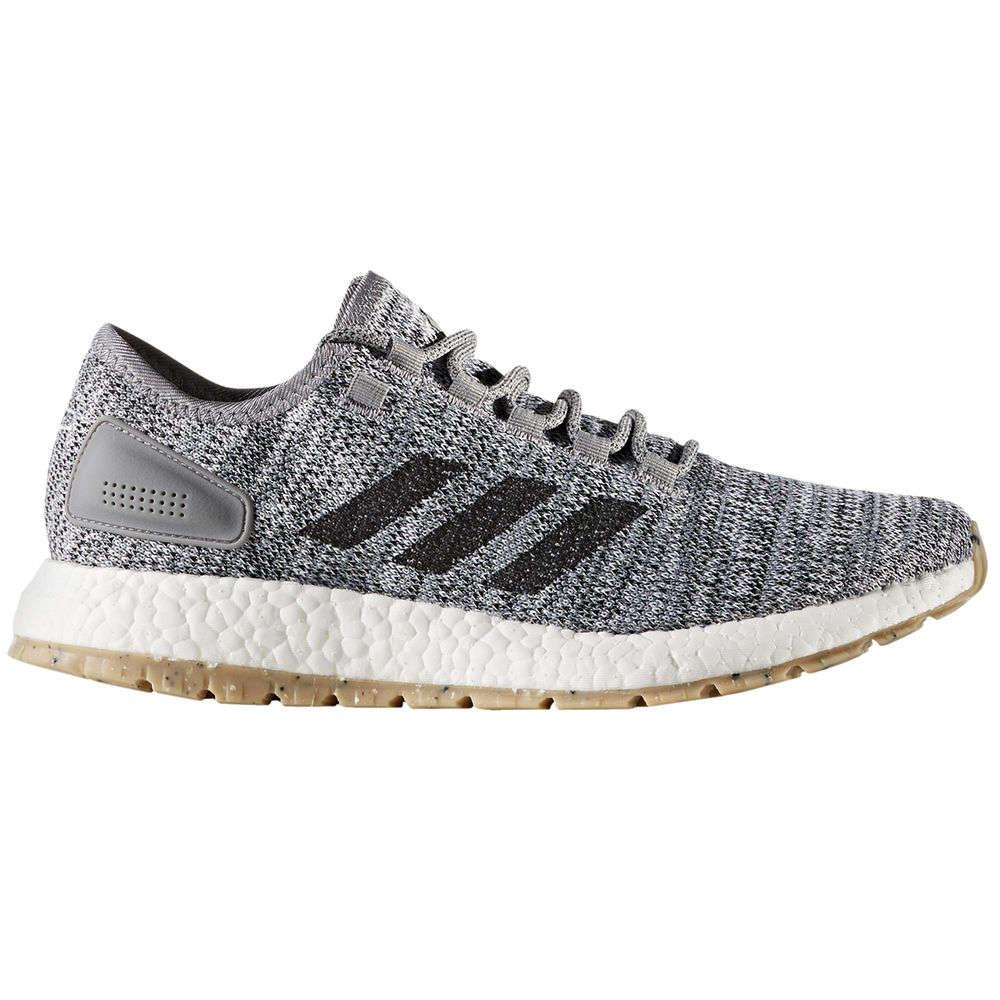 アディダス adidas メンズ ランニング・ウォーキング シューズ・靴【Pureboost Running Shoe】Grey/White