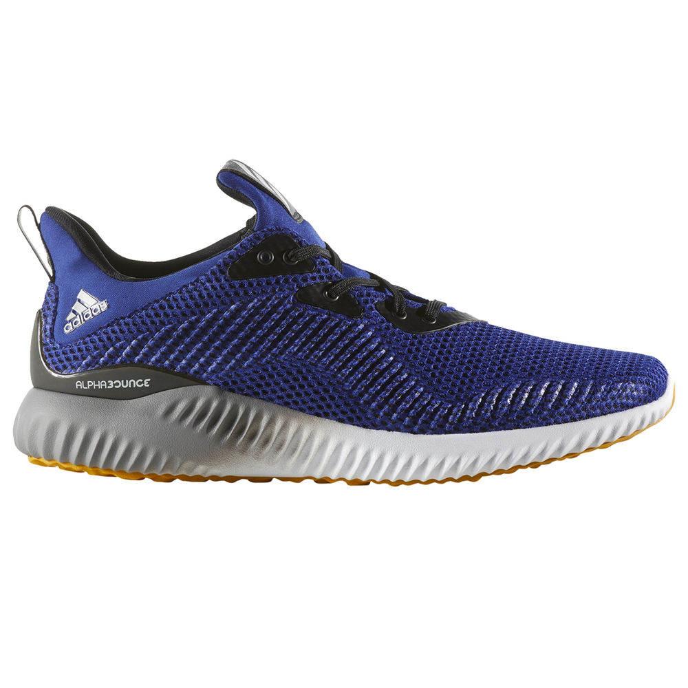 アディダス adidas メンズ ランニング・ウォーキング シューズ・靴【Alpha Bounce Running Shoe】Navy/White