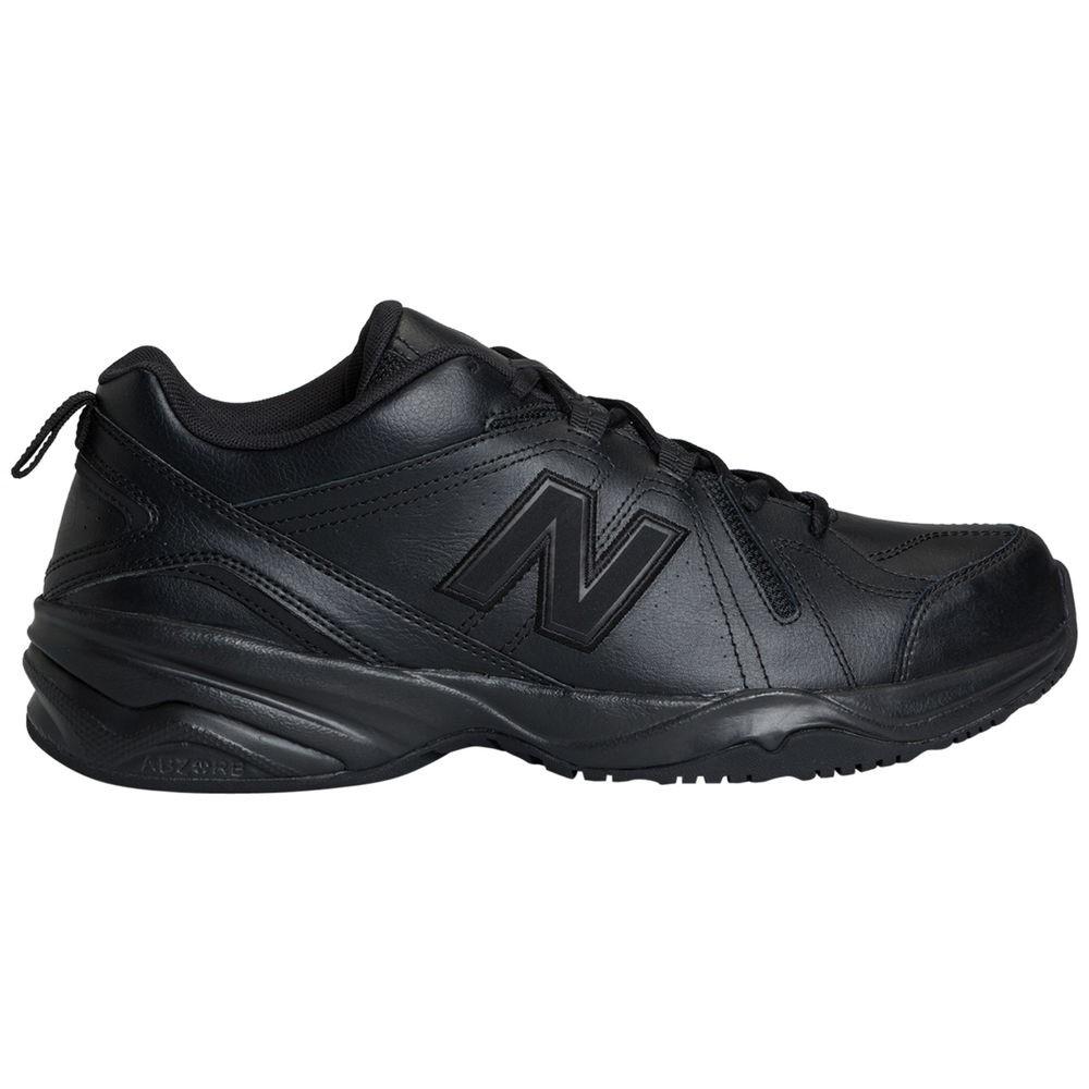ニューバランス New Balance メンズ フィットネス・トレーニング シューズ・靴【608v4 (Wide Width 4E) Training Shoe】Black/Black