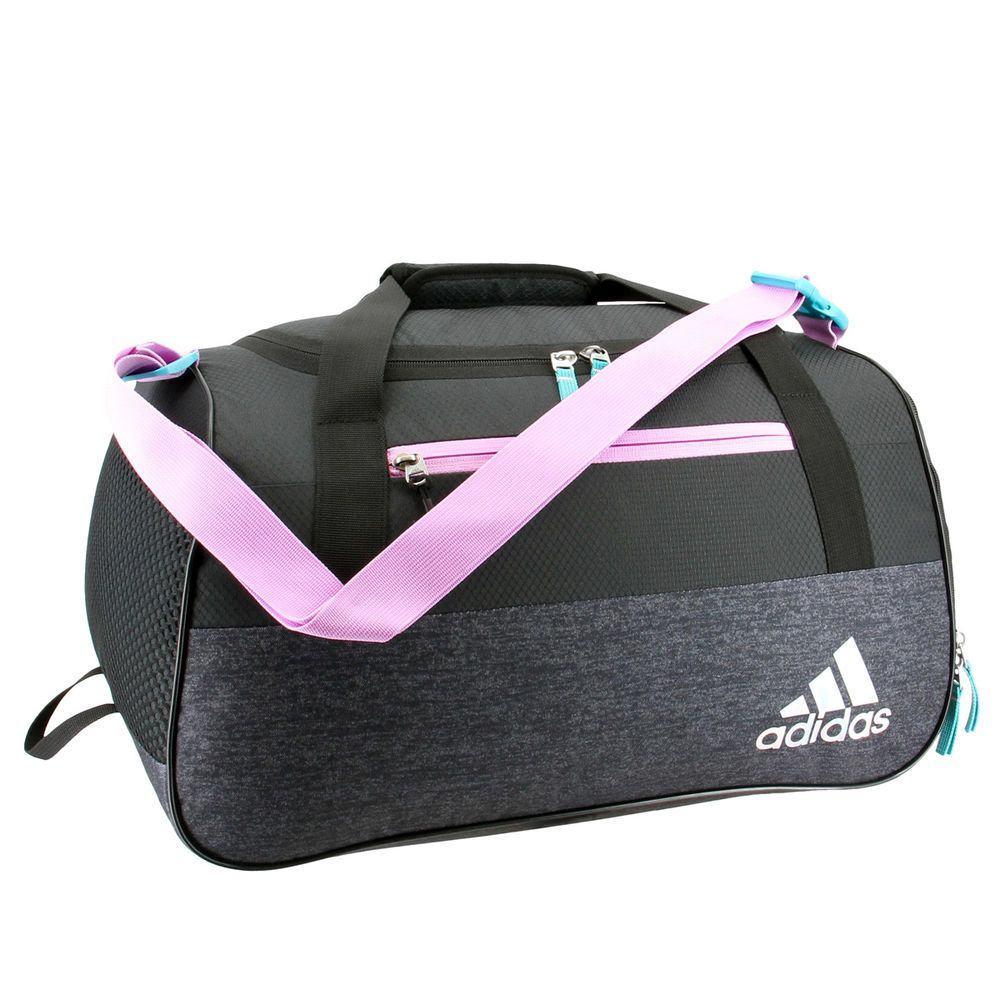 アディダス adidas ユニセックス バッグ ボストンバッグ・ダッフルバッグ【Squad III Duffel Bag】Black/Pink