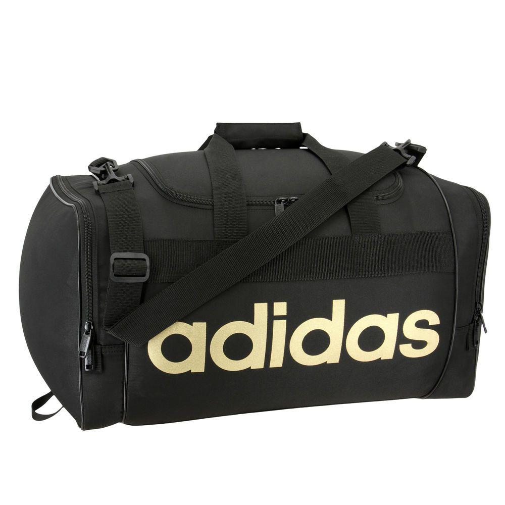 アディダス adidas ユニセックス バッグ ボストンバッグ・ダッフルバッグ【Santiago Duffel Bag】Black/Gold
