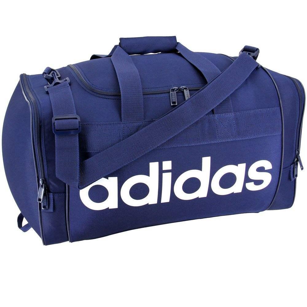 アディダス adidas ユニセックス バッグ ボストンバッグ・ダッフルバッグ【Santiago Duffel】Blue/White