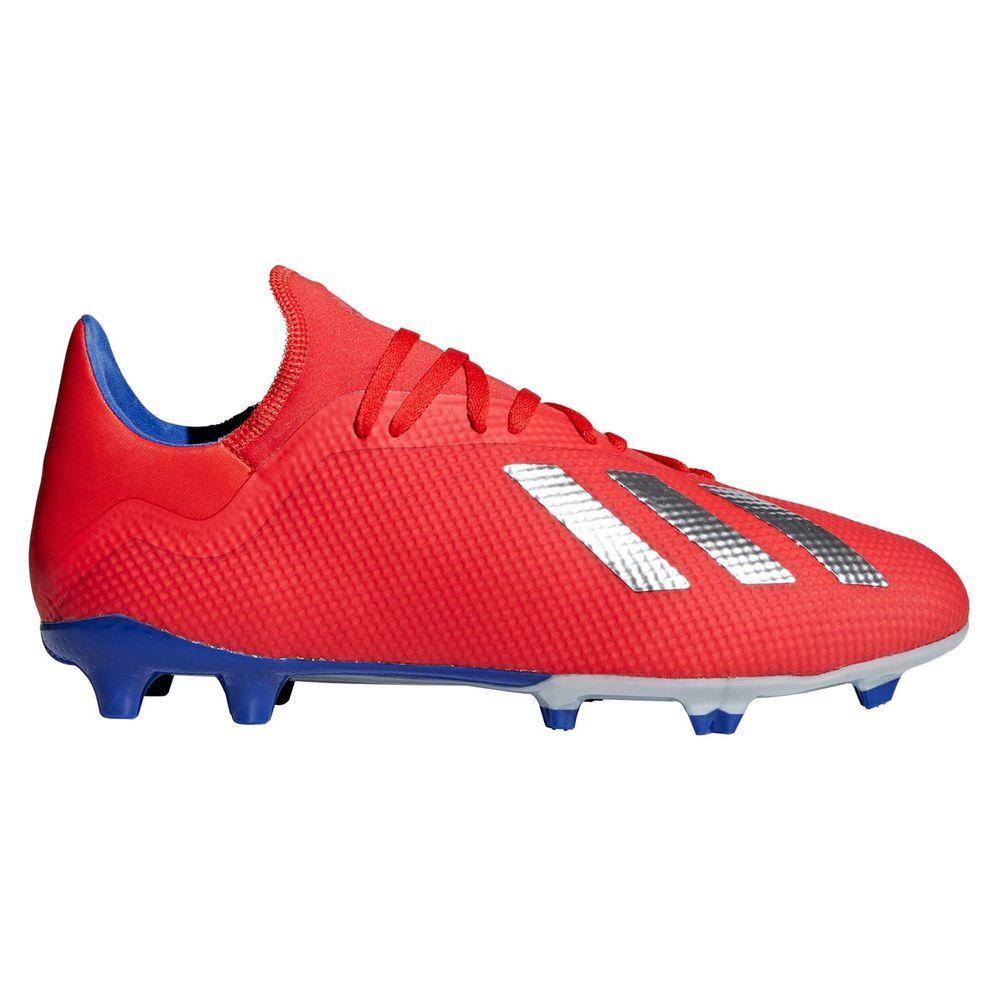 アディダス adidas メンズ サッカー シューズ・靴【X 18.3 Firm Ground Soccer Cleat】赤/青