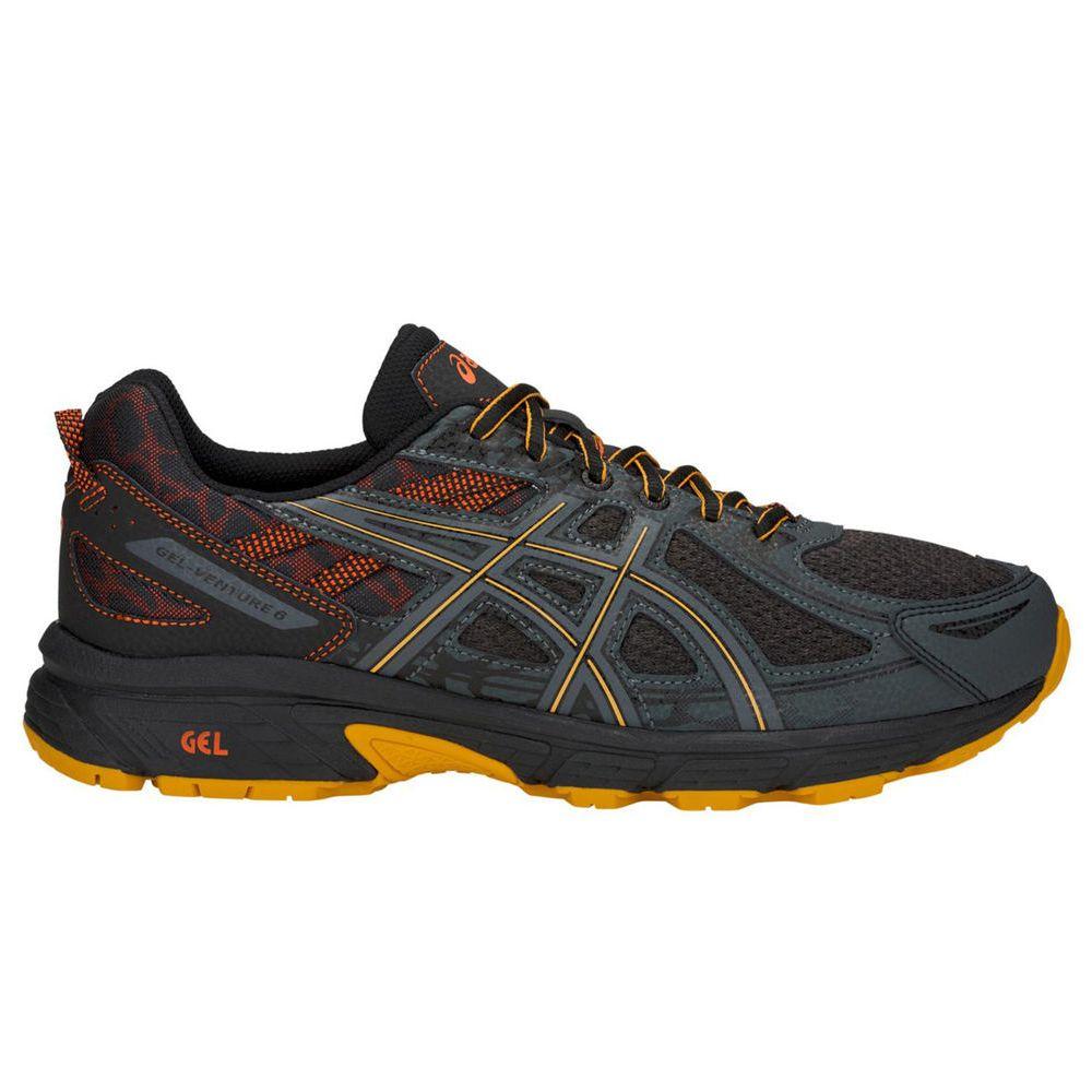 アシックス ASICS メンズ ランニング・ウォーキング シューズ・靴【GEL-Venture 6 Trail Running Shoes】Black/Yellow