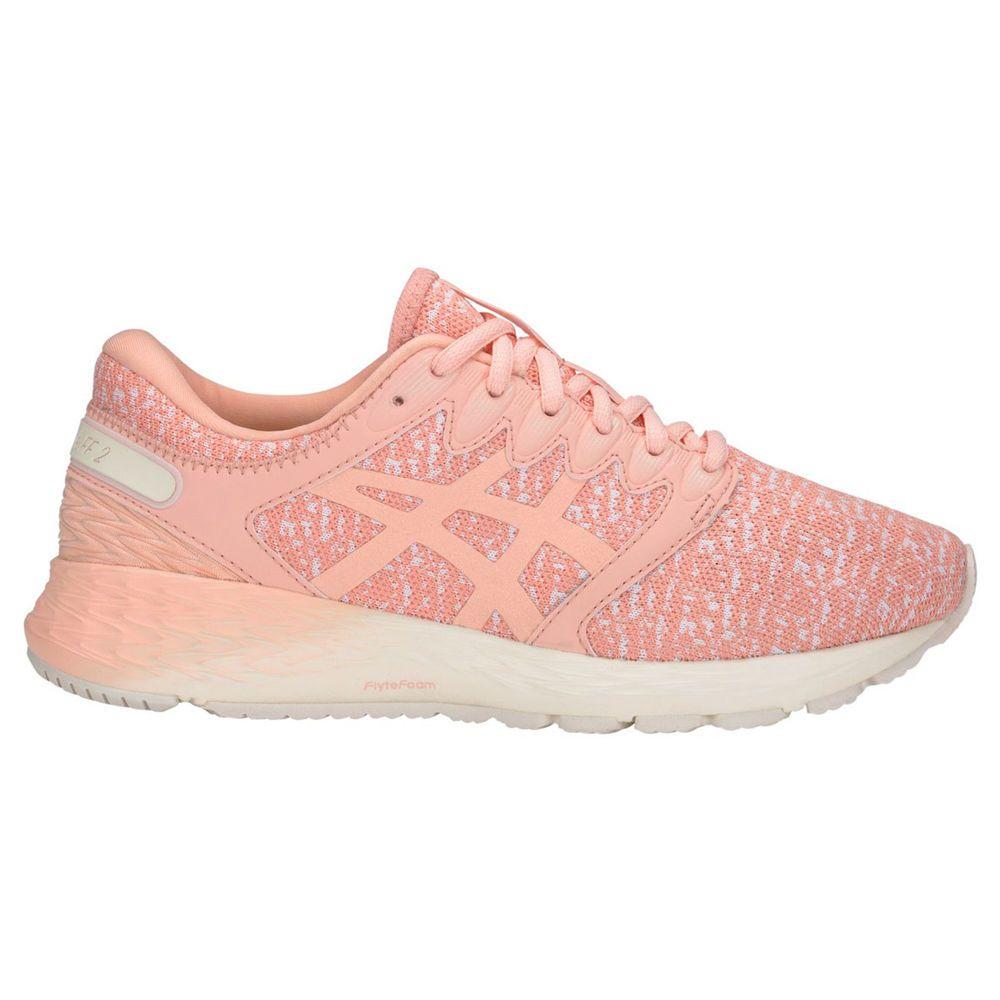 アシックス ASICS レディース ランニング・ウォーキング シューズ・靴【Roadhawk FF 2 Running Shoe】Pink/White