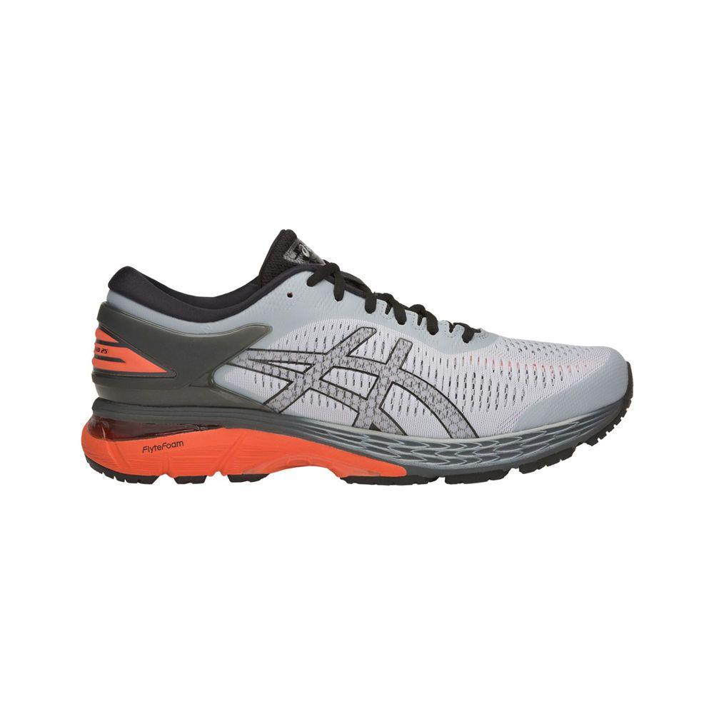 アシックス ASICS メンズ ランニング・ウォーキング シューズ・靴【GEL- Kayano 25 Running Shoe】Grey/Orange