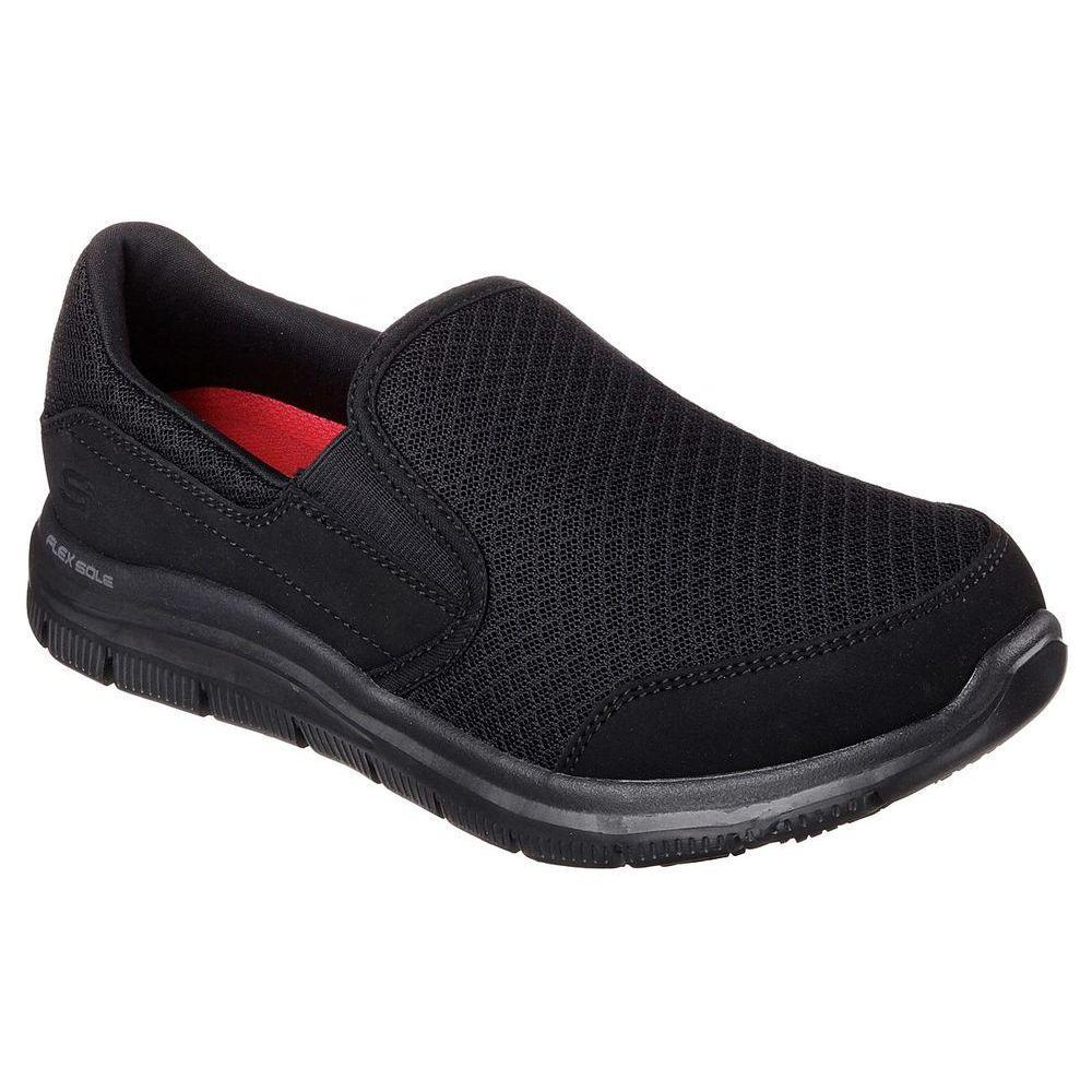 スケッチャーズ Skechers レディース シューズ・靴【Cozard Slip Resistant Shoe】Black