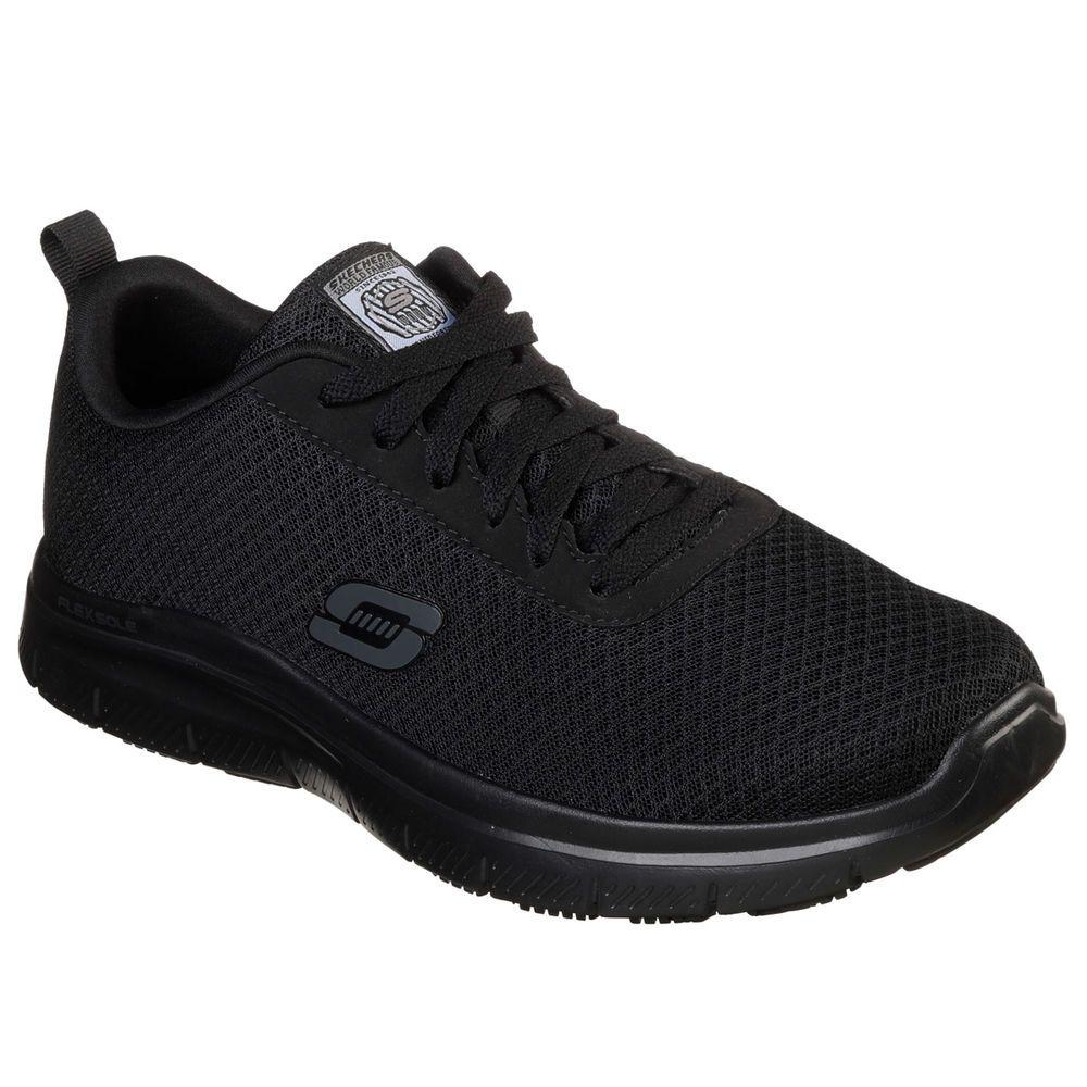 スケッチャーズ Skechers メンズ シューズ・靴 スニーカー【Bendon Mesh Work Shoe】Black