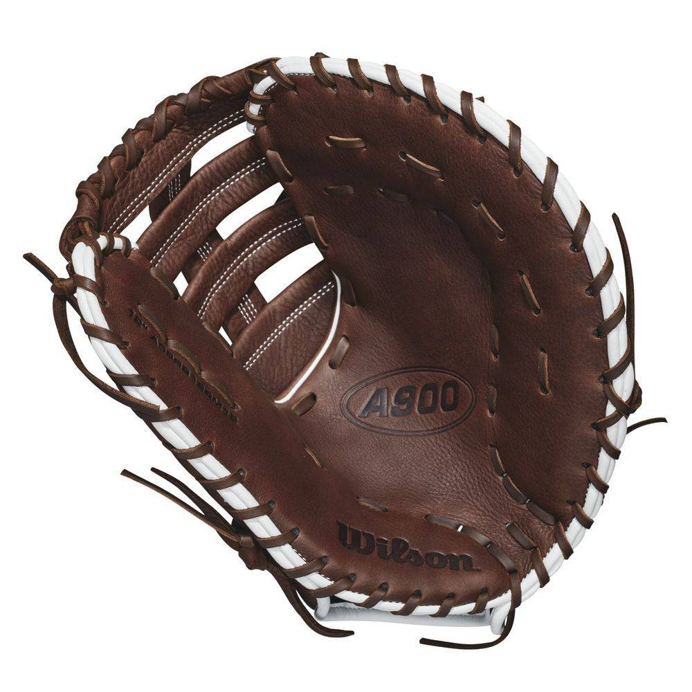 ウィルソン Wilson ユニセックス 野球 グローブ【2018 A900 12 Inch Left Hand Throw First Basemens Mitt】Dark Brown
