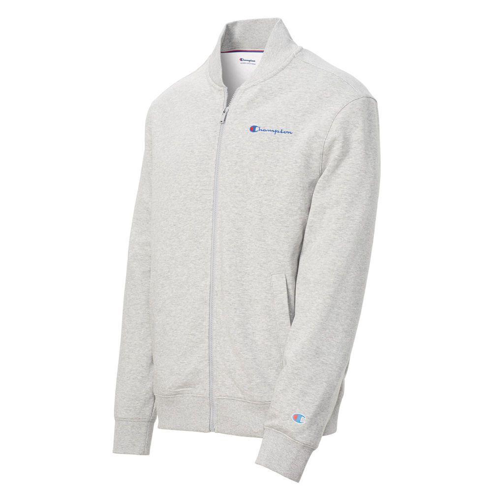チャンピオン Champion メンズ アウター ジャージ【Phys Ed Warm Up Jacket】Oxford Grey
