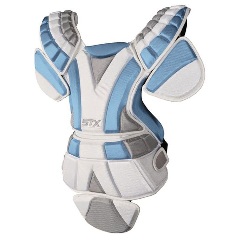 エスティーエックス STX レディース ラクロス プロテクター【Sultra Lacrosse Chest Protector Size Large】Black