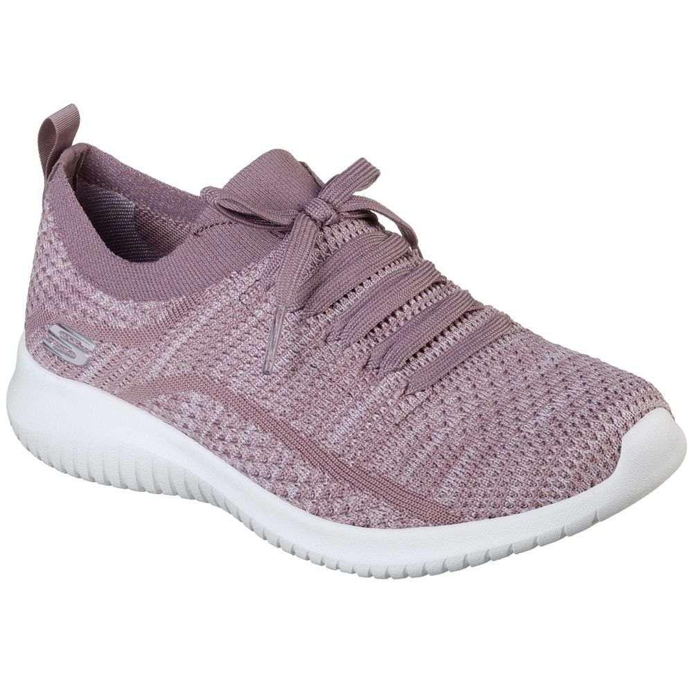 スケッチャーズ Skechers レディース シューズ・靴 スニーカー【Ultra Flex Statement Casual Shoe】Lavender