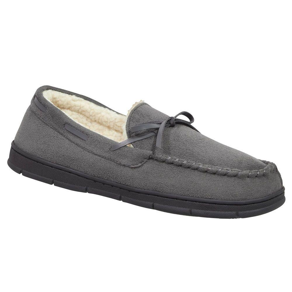 スミス Smith's メンズ シューズ・靴 スリッパ【Smiths Moccasins】Grey