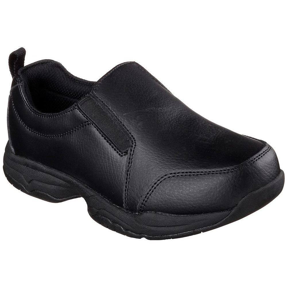 スケッチャーズ Skechers レディース シューズ・靴【Felton Calpet Slip Resistant Shoe】Black
