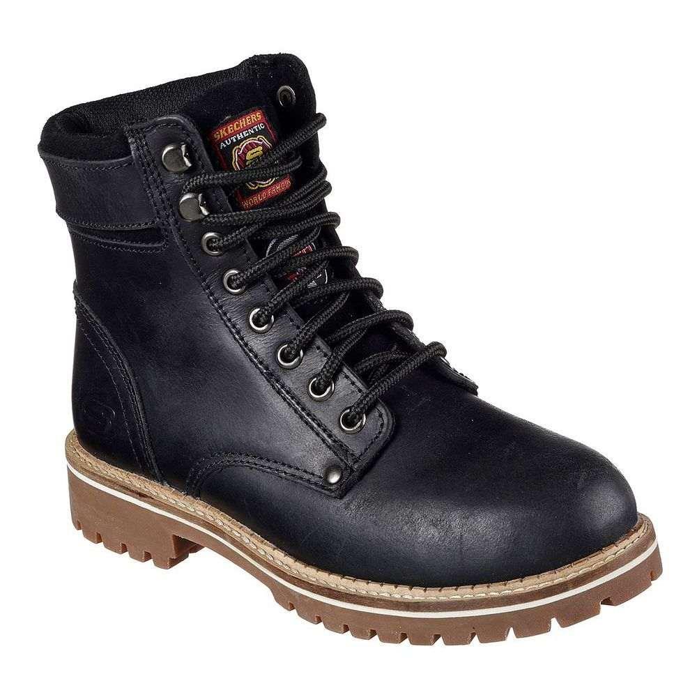 スケッチャーズ Skechers レディース シューズ・靴 ブーツ【Brooten Steel Toe Boot】Black