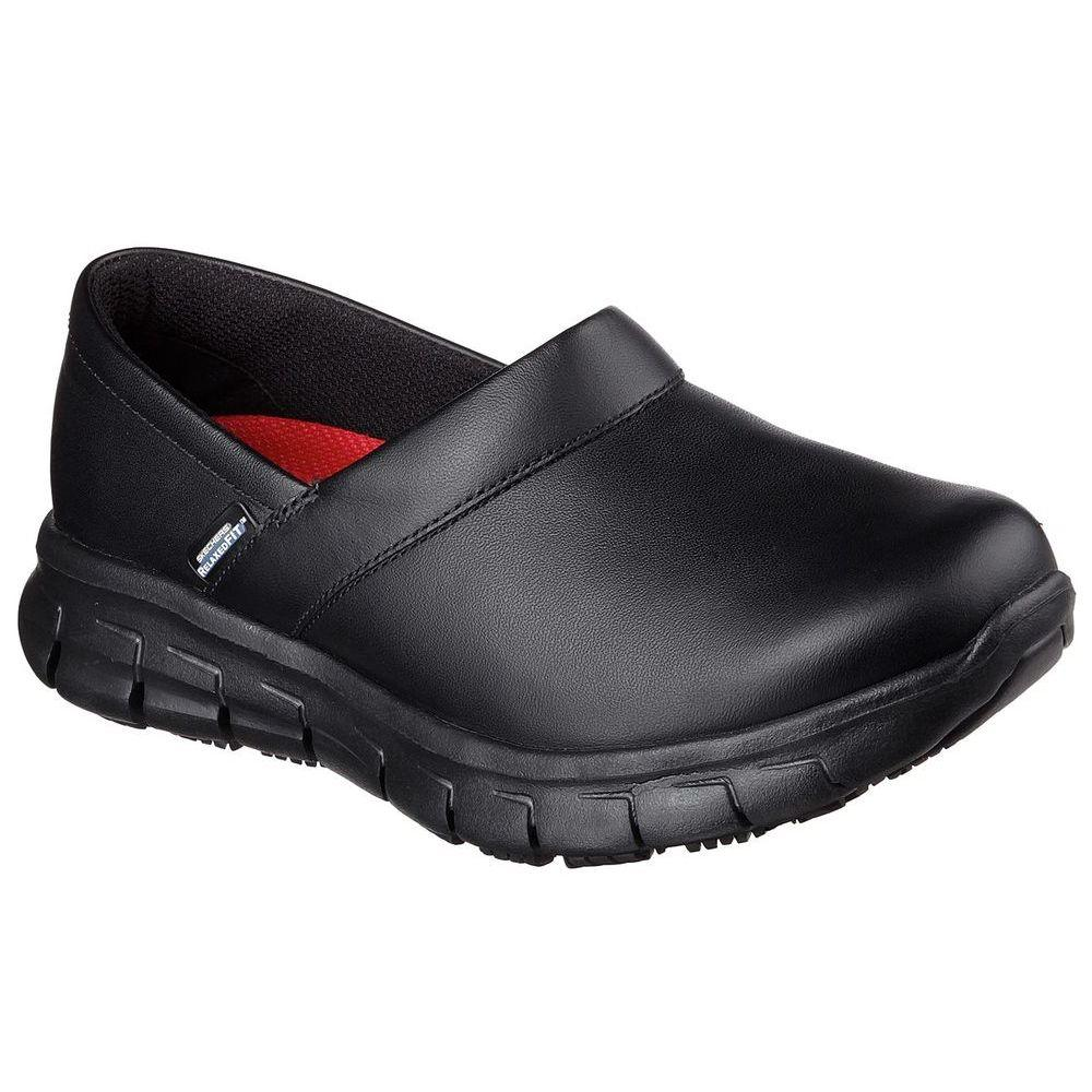 スケッチャーズ Skechers レディース シューズ・靴【Sure Track Bernal Slip Resistant Shoe】Black