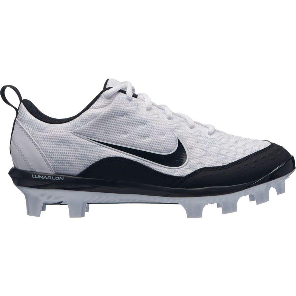ナイキ Nike レディース 野球 シューズ・靴【Hyperdiamond 2 Pro MCS Softball Cleat】White/Black