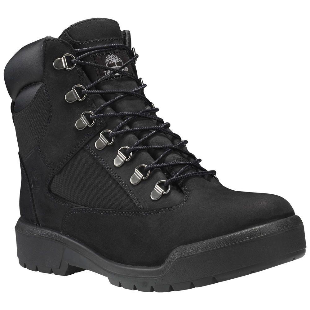 ティンバーランド Timberland メンズ シューズ・靴 ブーツ【6 Inch Waterproof Field Boot】Black