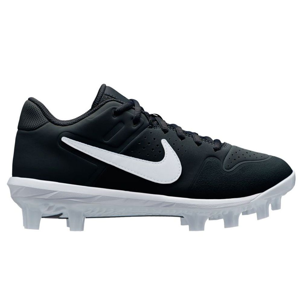 ナイキ Nike メンズ 野球 シューズ・靴【Alpha Huarache Varsity Low MCS Baseball Cleat】Black/White