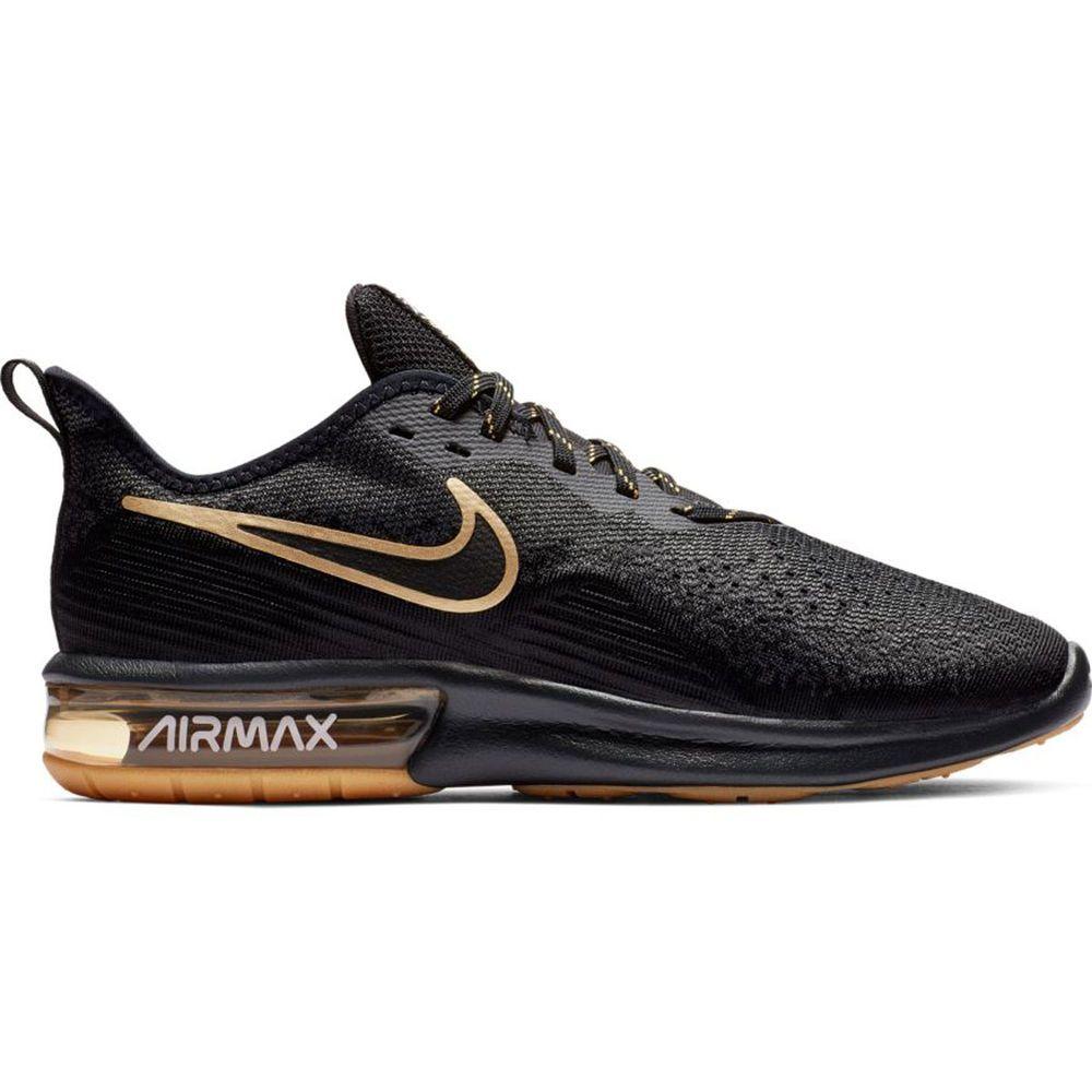 ナイキ Nike メンズ ランニング・ウォーキング シューズ・靴【Air Max Sequent 4 Running Shoe】Black/Black