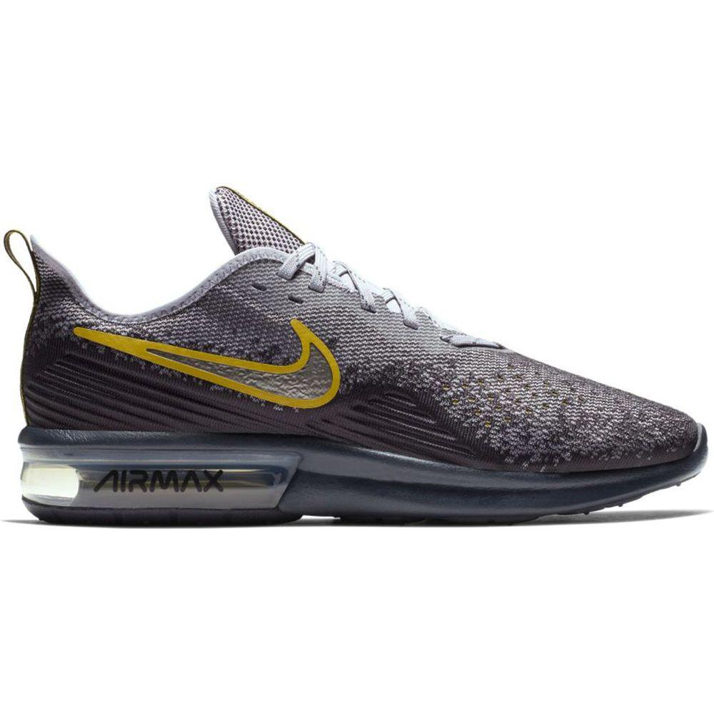 ナイキ Nike メンズ ランニング・ウォーキング シューズ・靴【Air Max Sequent 4 Running Shoe】Grey/Black