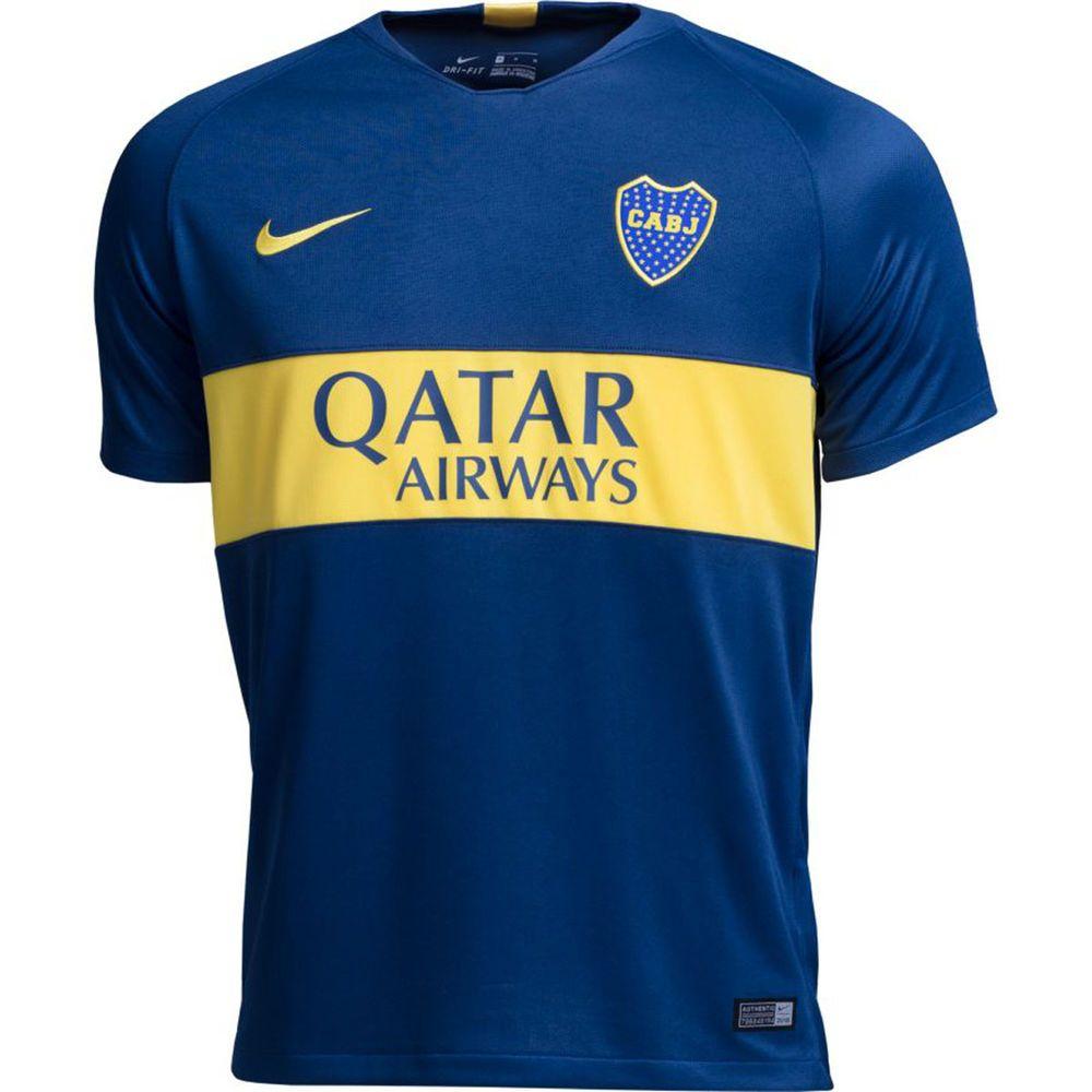 ナイキ Nike メンズ サッカー トップス【Boca Stadium Home Jersey】Blue/Yellow