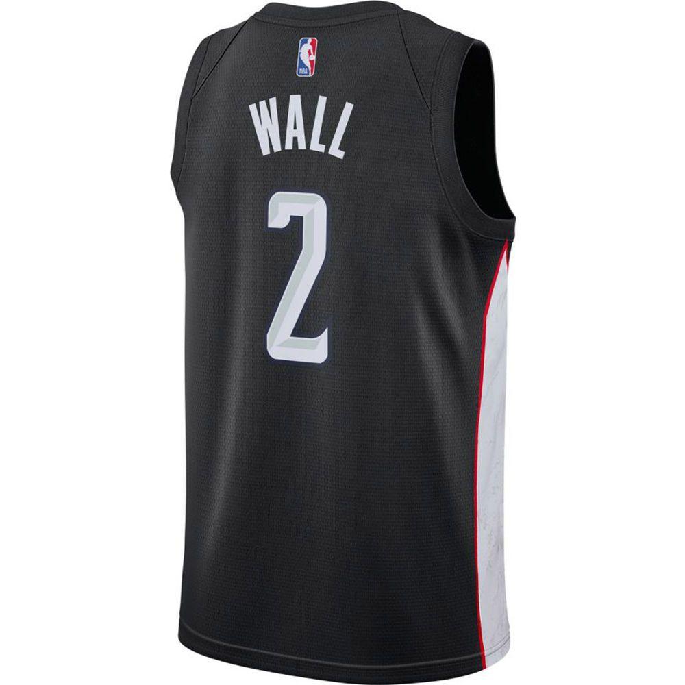 ナイキ Nike メンズ トップス【Washington Wizards Adult John Wall City Edition Jersey】Black