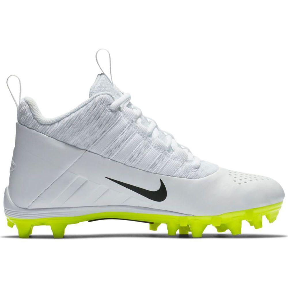 ナイキ Nike メンズ ラクロス シューズ・靴【Alpha Huarache 6 Lacrosse Cleat】White