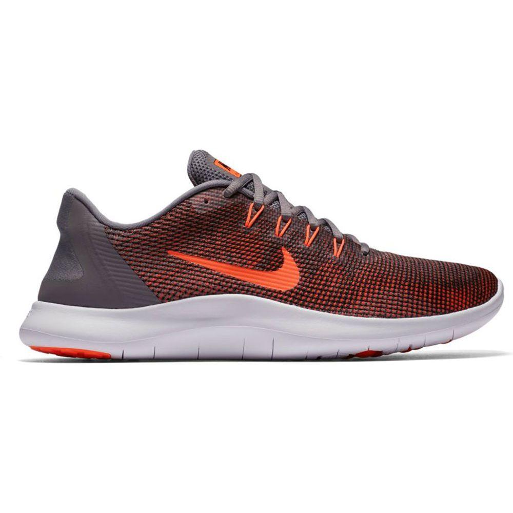 ナイキ Nike メンズ ランニング・ウォーキング シューズ・靴【Flex RN 2018 Running Shoe】Grey/Red