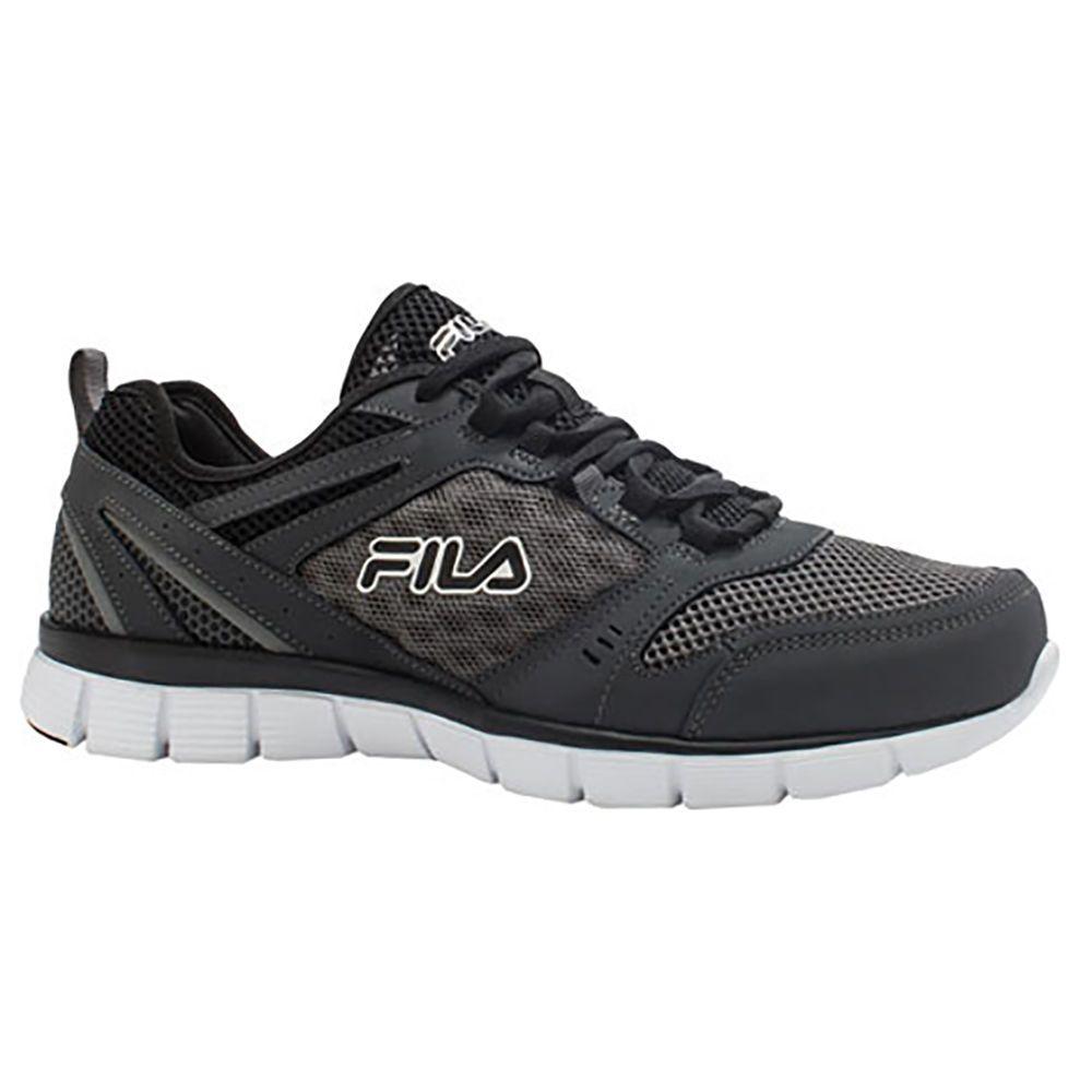 フィラ Fila メンズ ランニング・ウォーキング シューズ・靴【Deluxe SE Running Shoe】Black/White