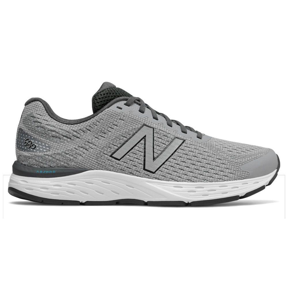 ニューバランス New Balance メンズ ランニング・ウォーキング シューズ・靴【680 V6 Running Shoe】Grey/White