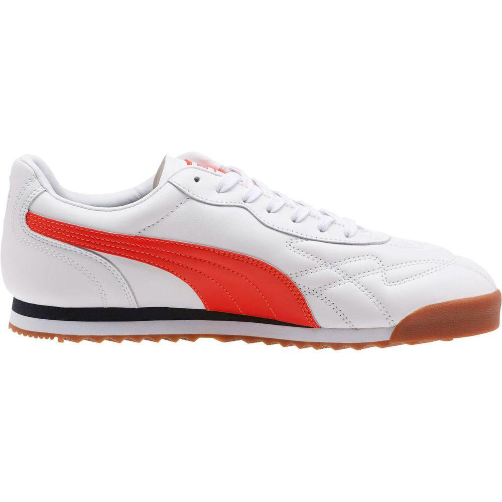 プーマ Puma メンズ シューズ・靴 スニーカー【Roma Anniversario Casual Shoe】White/Red