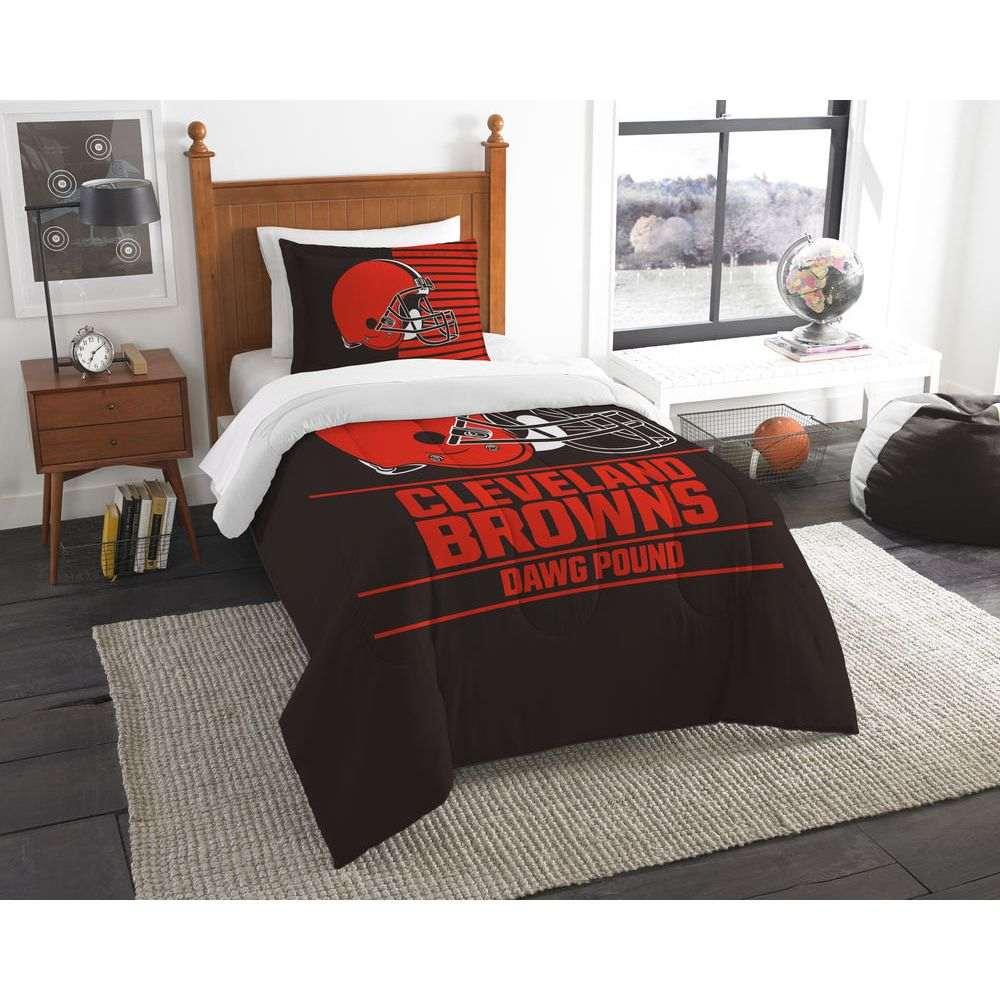 ノースウエスト Northwest ユニセックス 雑貨【Cleveland Browns Draft Twin Comforter Set】