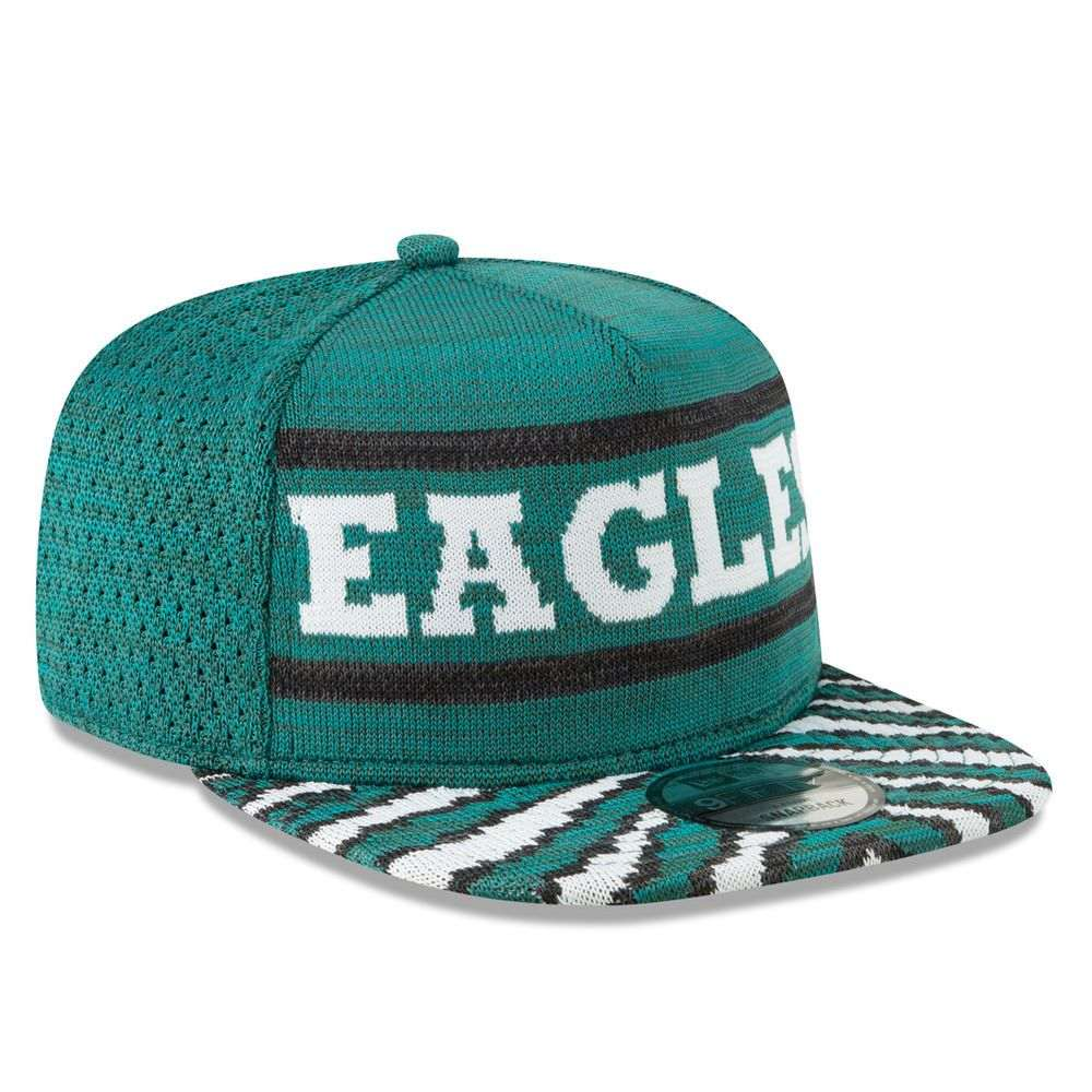 ニューエラ New Era ユニセックス 帽子 キャップ【Philadelphia Eagles Adult Zubaz 9FIFTY Snapback Hat】Green