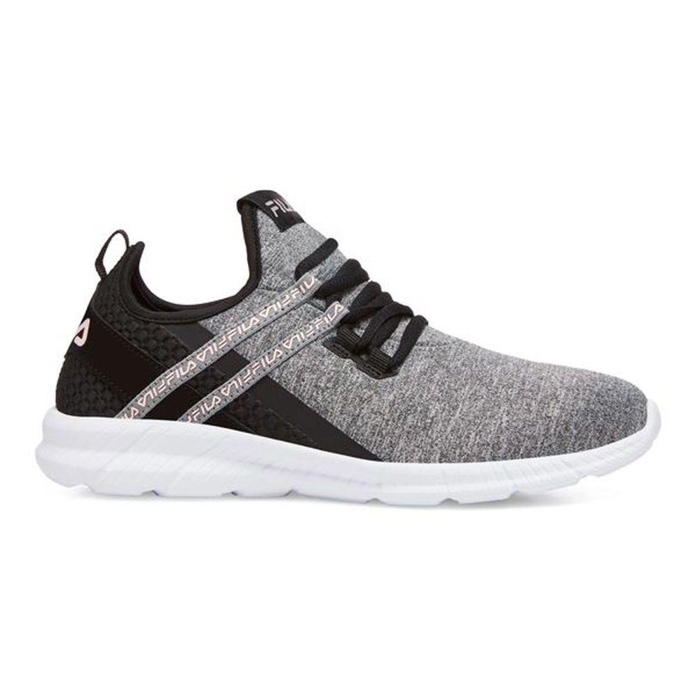 フィラ Fila レディース ランニング・ウォーキング シューズ・靴【Skybreeze Running Shoe】Grey/Black, TSUKASA楽天市場shop ac07b67a