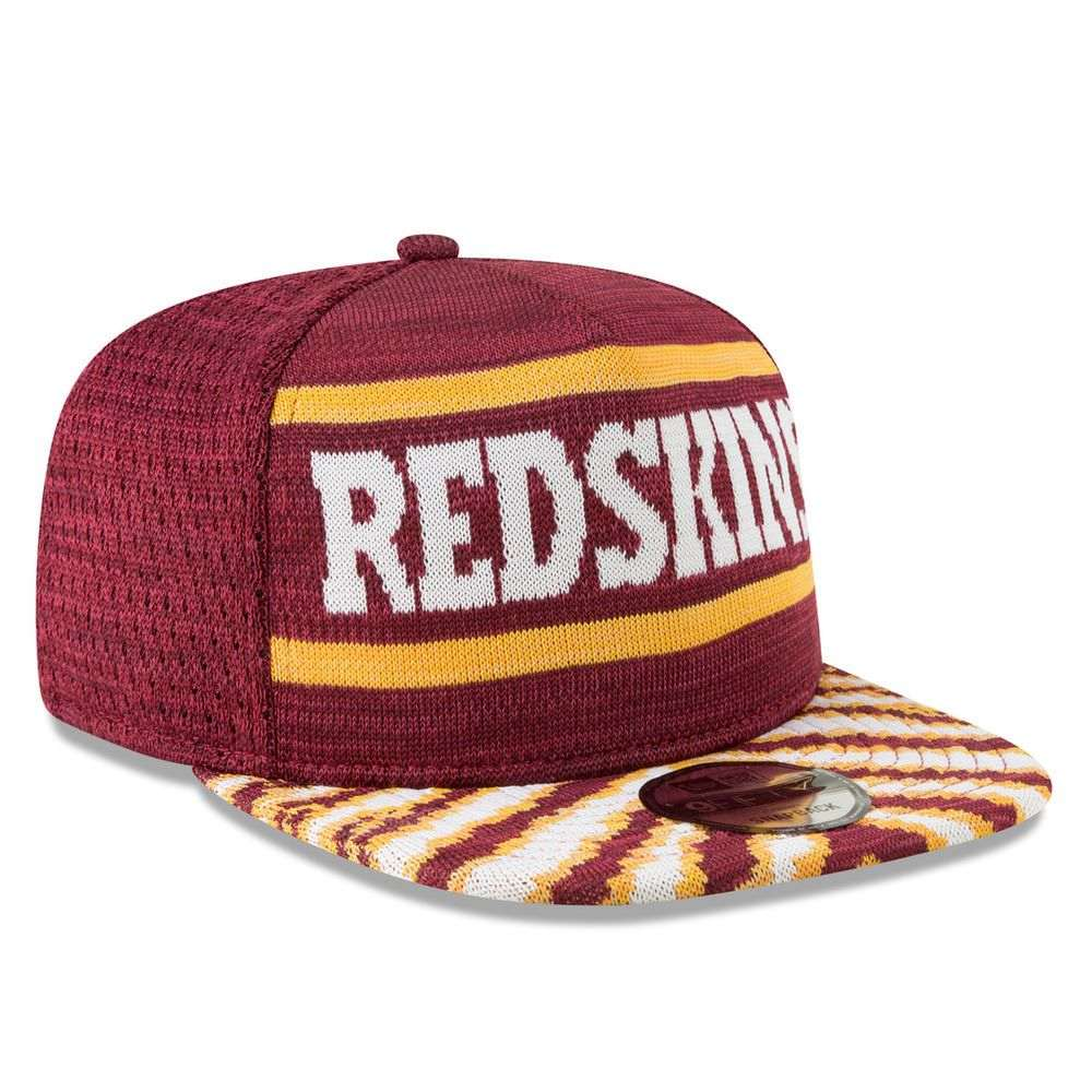 ニューエラ New Era ユニセックス 帽子 キャップ【Washington Redskins Adult 2018 Zubaz 9FIFTY Snapback Hat】Maroon