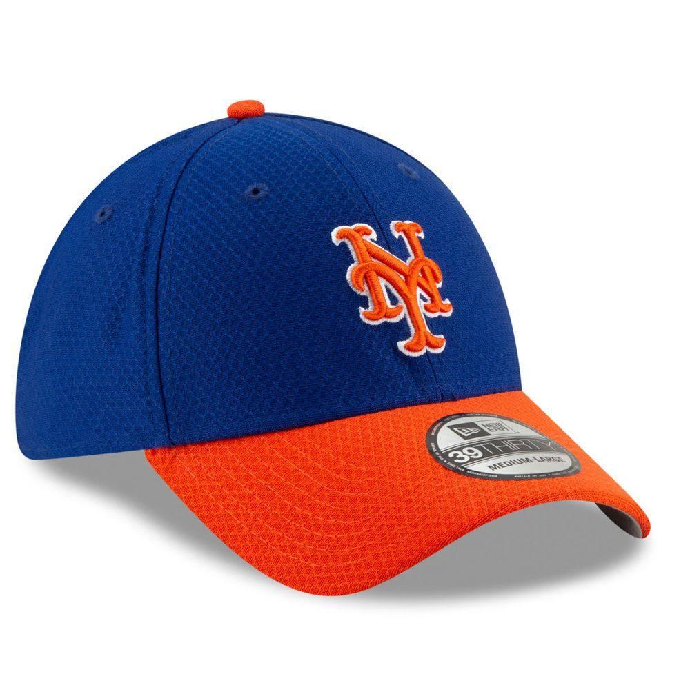 ニューエラ New Era ユニセックス 帽子 キャップ【New York Mets Adult 2019 Batting Practice 39THIRTY Flex Hat】Royal