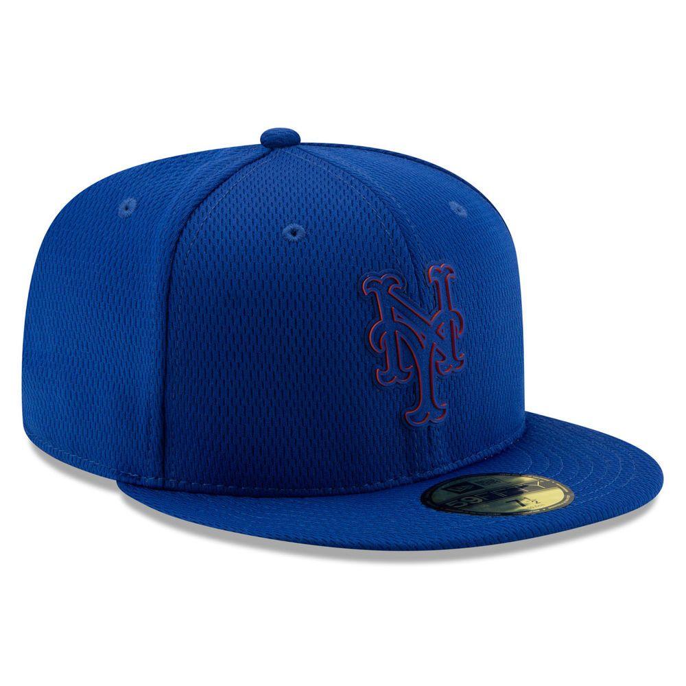 ニューエラ New Era ユニセックス 帽子 キャップ【New York Mets Adult Clubhouse Collection 59FIFTY Fitted Hat】Royal