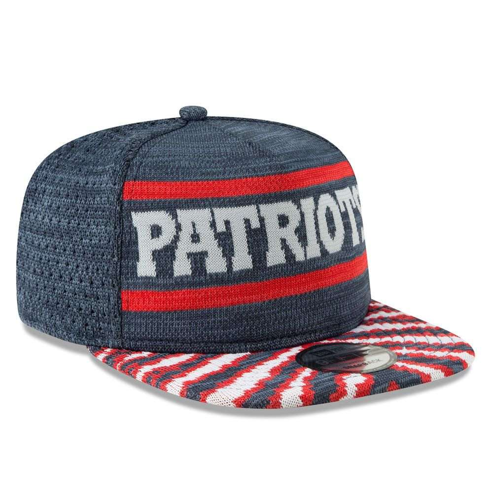 ニューエラ New Era ユニセックス 帽子 キャップ【New England Patriots Adult Zubaz 9FIFTY Snapback Hat】Navy