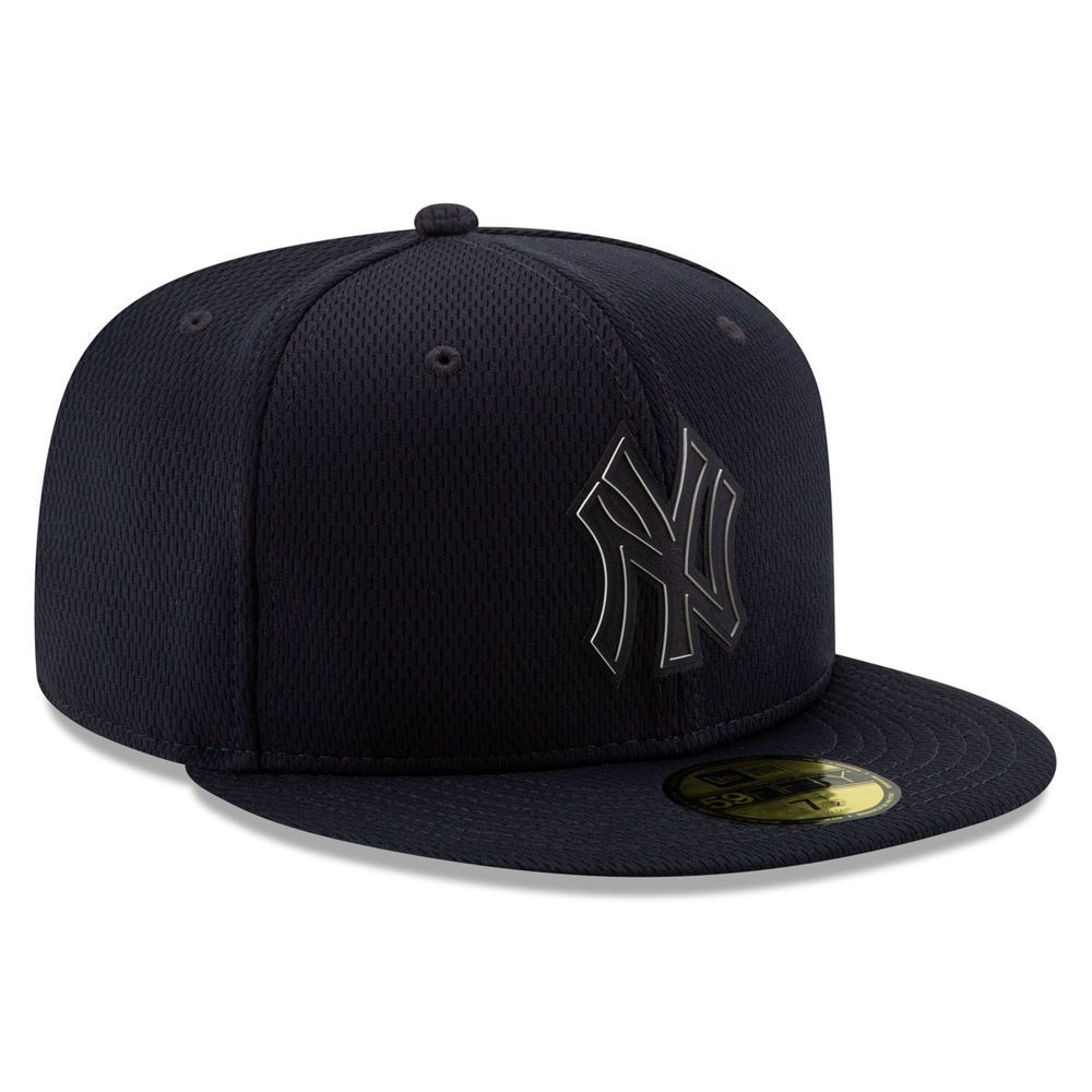 ニューエラ New Era ユニセックス 帽子 キャップ【New York Yankees Adult Clubhouse Collection 59FIFTY Fitted Hat】Navy