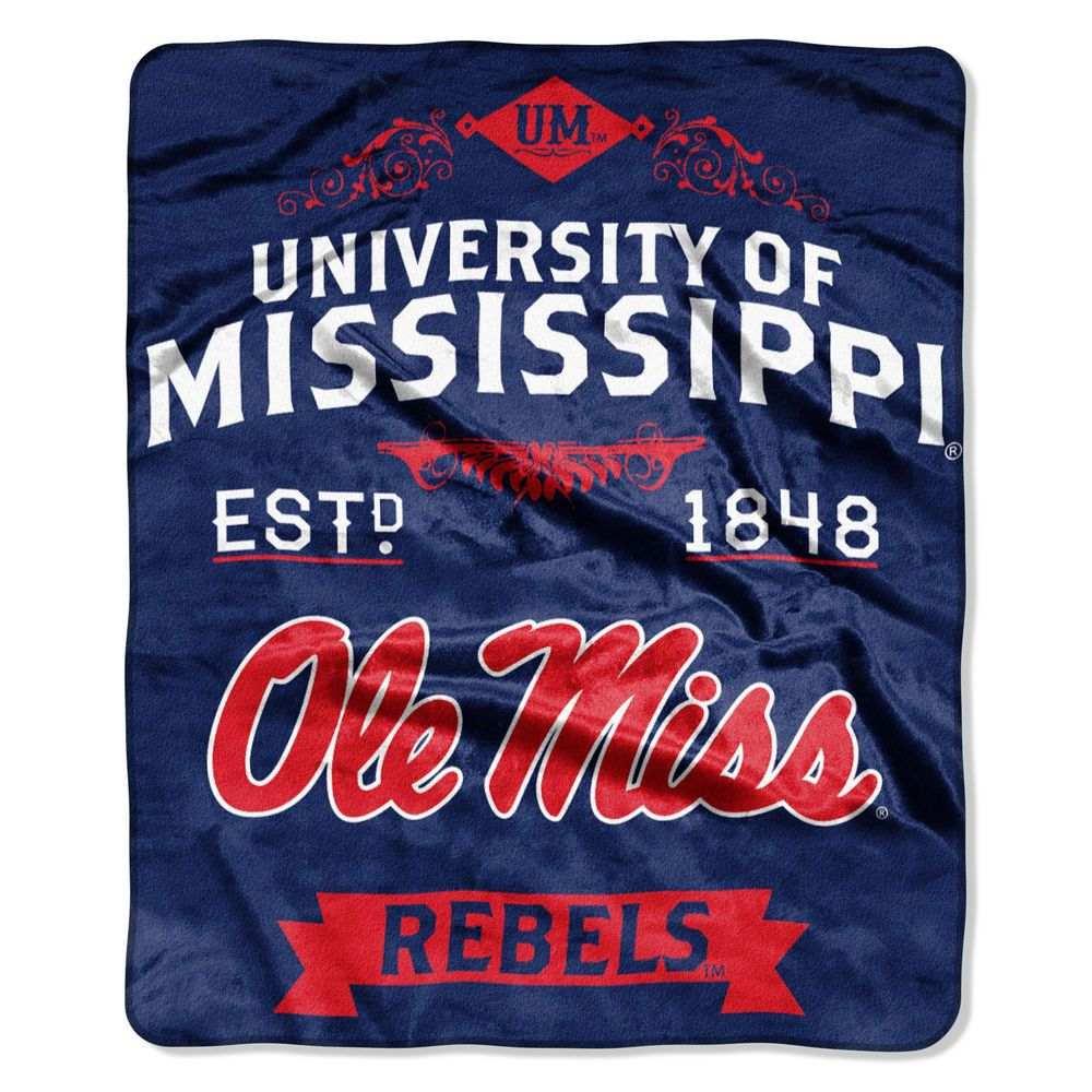 ノースウエスト Northwest ユニセックス 雑貨【Mississippi Rebels Label Raschel Throw】