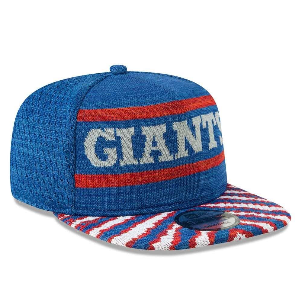 ニューエラ New Era ユニセックス 帽子 キャップ【New York Giants Adult Zubaz 9FIFTY Snapback Hat】Royal