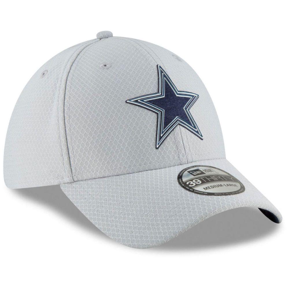 ニューエラ New Era ユニセックス 帽子 キャップ【Dallas Cowboys Adult 2018 39THIRTY Hat】Grey