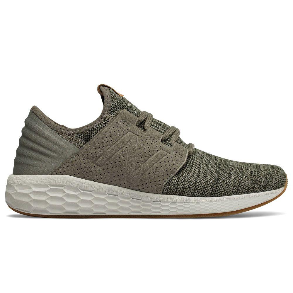 ニューバランス New Balance メンズ ランニング・ウォーキング シューズ・靴【Fresh Foam Cruz v2 Knit Running Shoe】Green/White