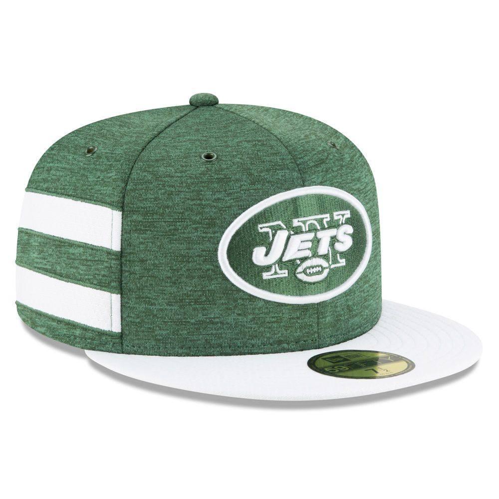 ニューエラ New Era ユニセックス 帽子 キャップ【New York Jets Adult 2018 59FIFTY Sideline Hat】Green