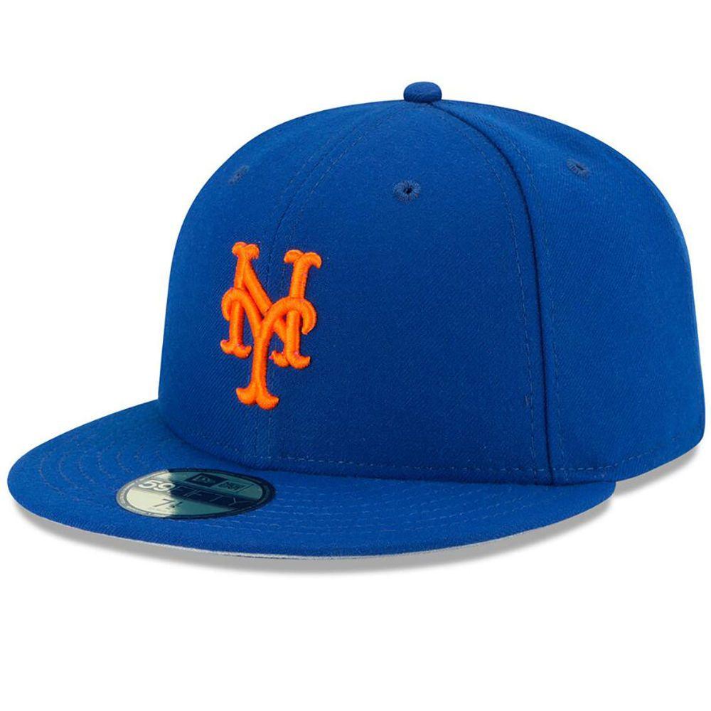 ニューエラ New Era ユニセックス 帽子 キャップ【New York Mets Adult On-Field 59FIFTY Hat】Royal